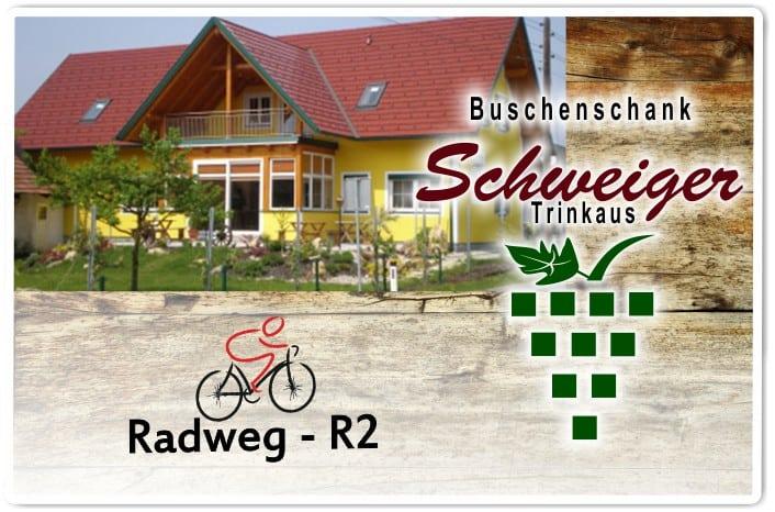 Buschenschank Schweiger Mureck Radweg R2