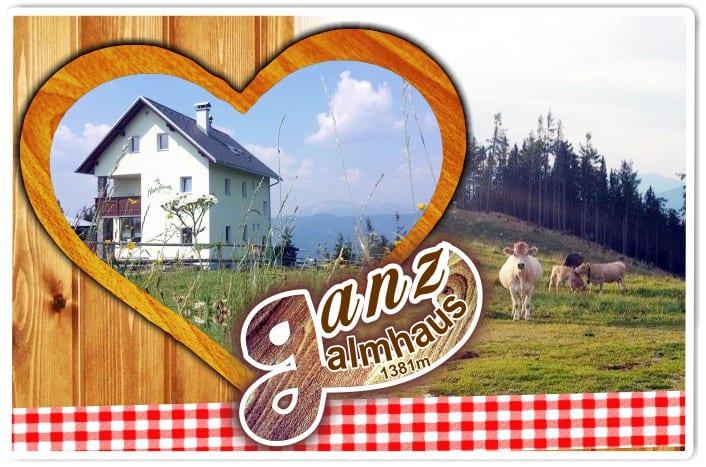 Rodeln Ganzalm Schutzhaus