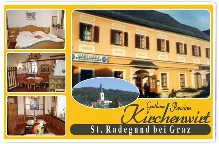 Kirchenwirt St. Radegund bei Graz essen & trinken am schoeckl