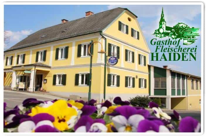 Gasthof Fleischerei Haiden Jagerberg