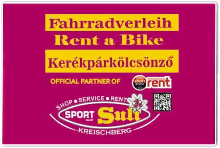 fahrradverleih murradweg rent a bike