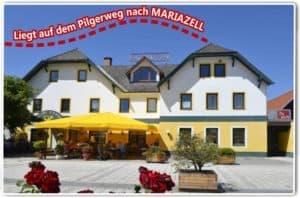 gut essen in Hochsteiermark Pilgerweg nach Mariazell