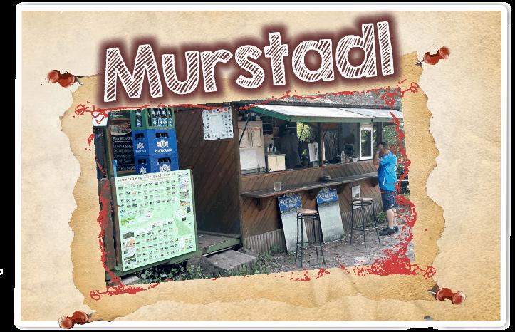 Murstadl Obervogau Trinken am Murradweg