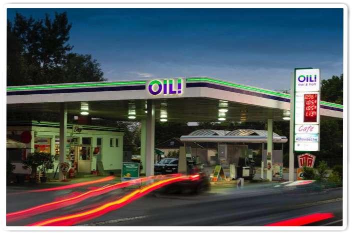 OIL Tankstelle Cernoga Lebring